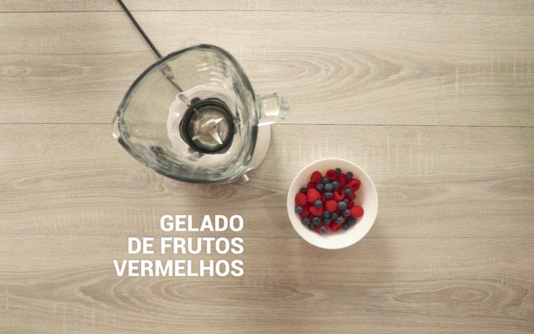 Gelado de Frutos Vermelhos