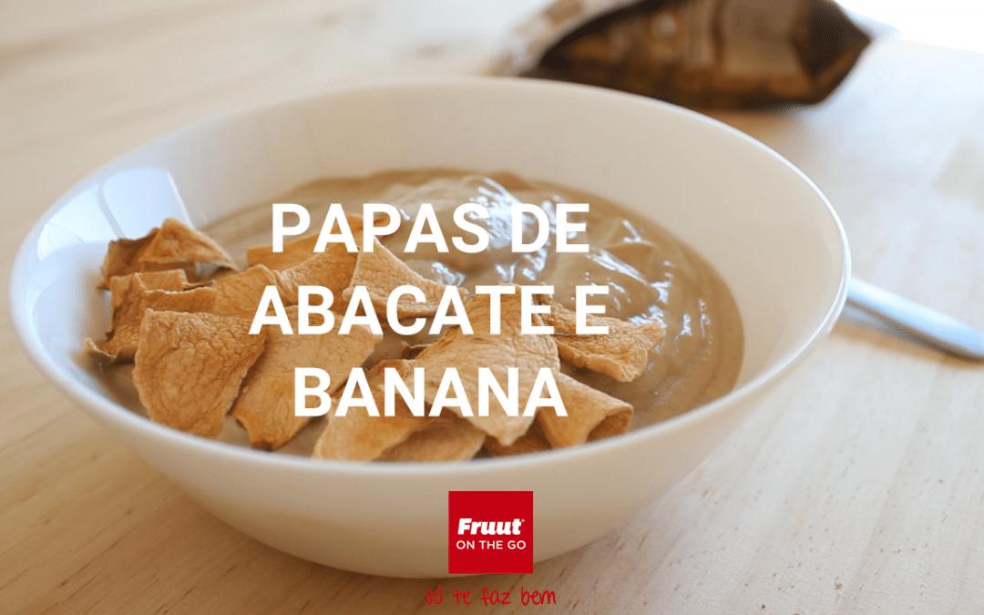 Papas de Abacate e Banana