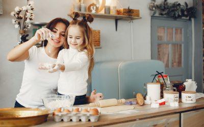 Receitas saudáveis para fazer com crianças