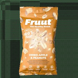 maçã-amendoim-snack